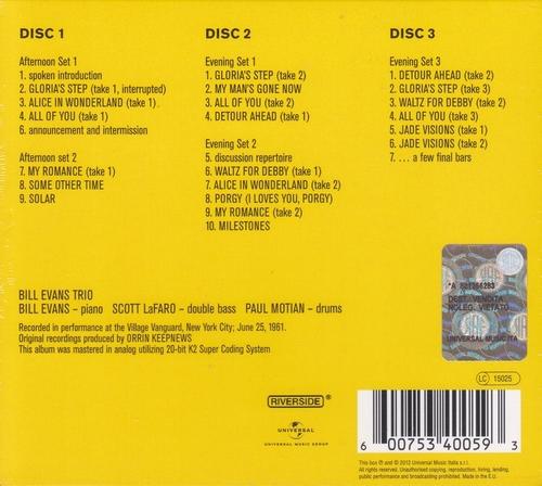 Music Island - Bill Evans - The Complete Village Vanguard Recordings